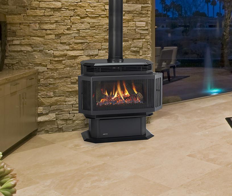 Fireplace Design saratoga fireplace : Energy-Efficient Gas Stoves