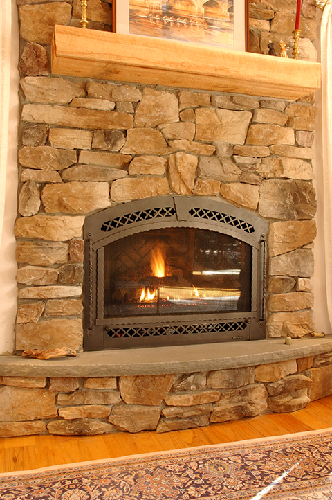 Efficient Gas Fireplaces