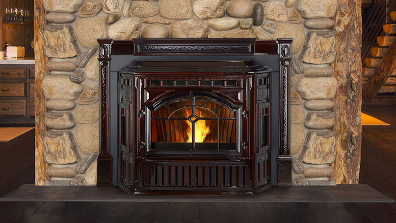 Convenient Pellet Fireplaces