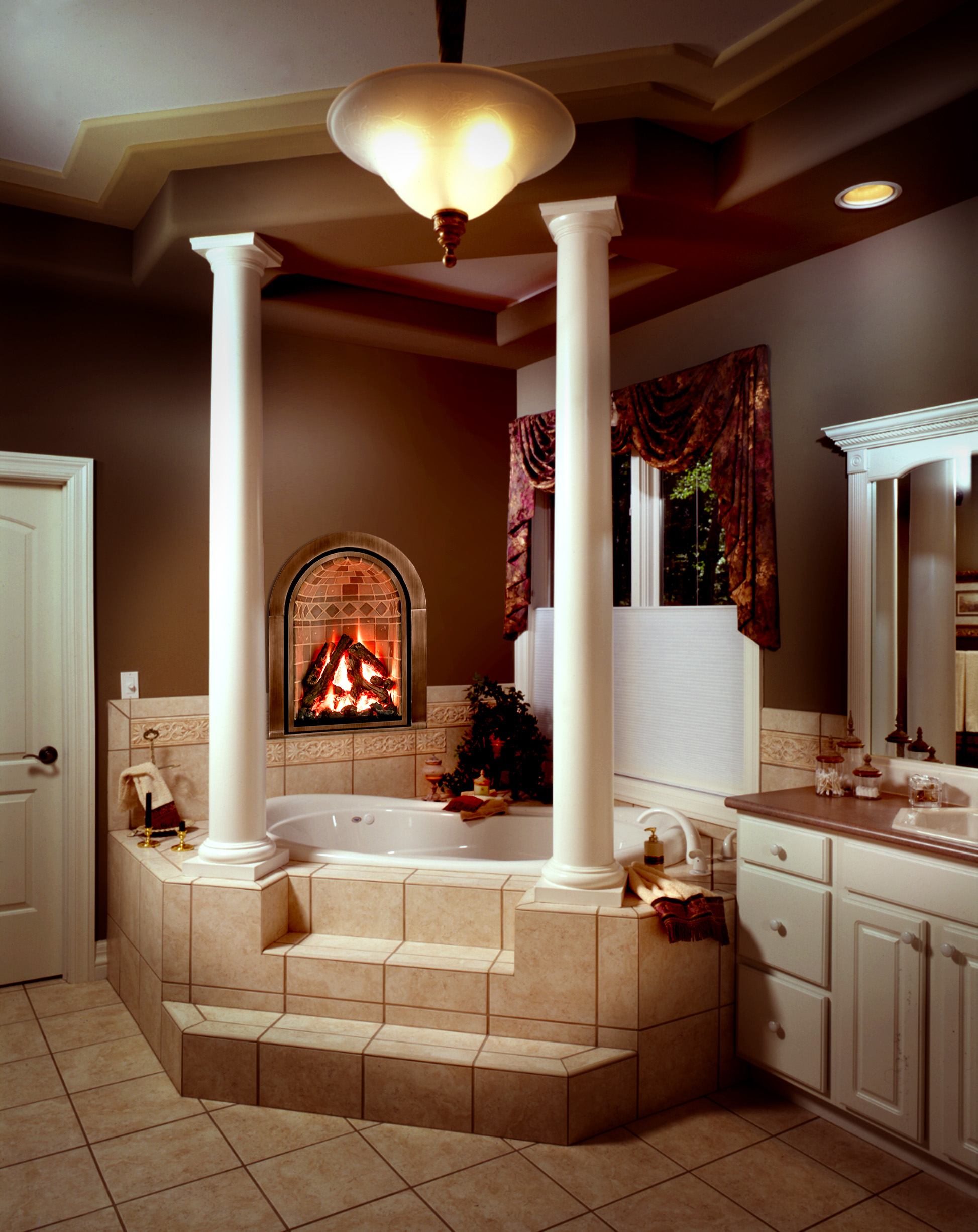 building a new fireplace or stove
